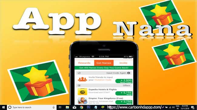 AppNana for PC Windows 10/8/7