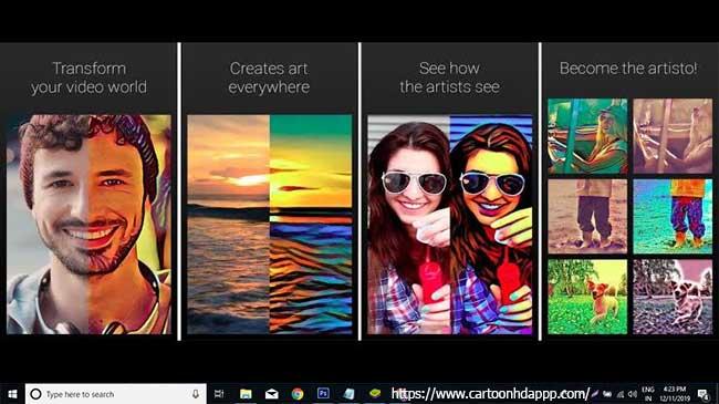 Artisto for PC Windows 10/8/7