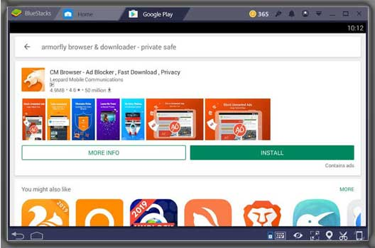 Download CM browser For PC Windows 10/8/8.1/7 Free