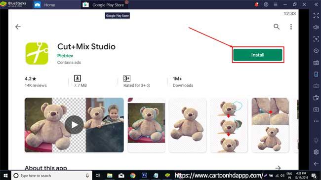 Cut+Mix Studio for PC Windows 10/8/7 Free