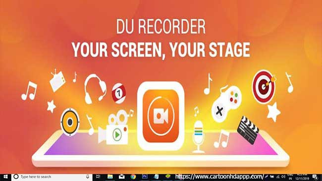 DU Recorder For PC Windows 10/8/7/XP/Mac/Vista