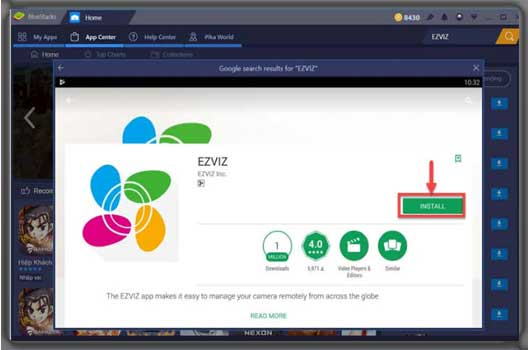 EZVIZ For PC and windows 10/8/7/vista mac