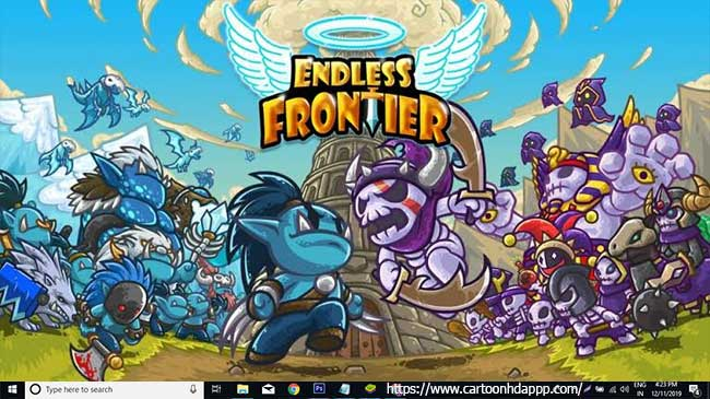 Endless frontier for PC Windows 10/8/7