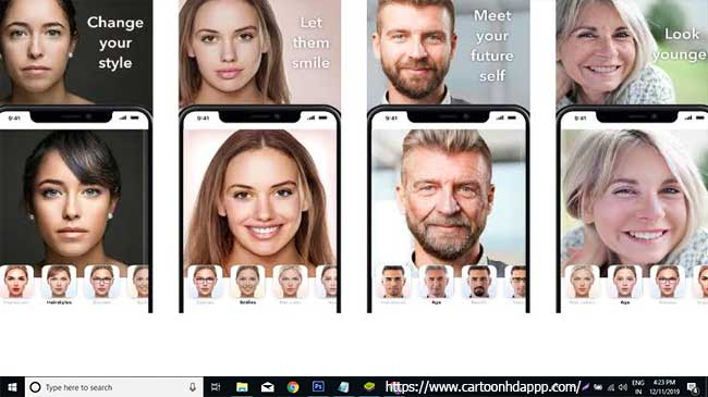 FaceApp For PC Winows 10/8/7
