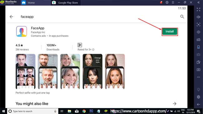 FaceApp For PC Winows 10/8/7 Free