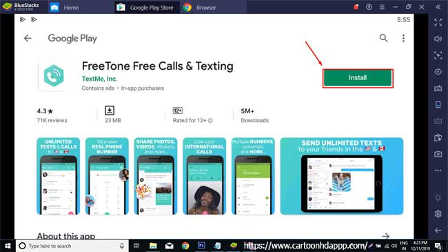 Freetone for PC Windows 10/8/7 Free Install