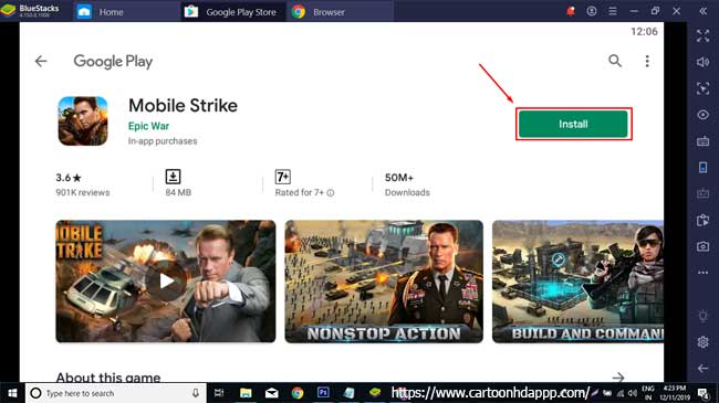 Mobile strike for PC Windows 10/8/7 Free Install