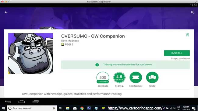 OVERSUMO for PC Windows 10/8/7 Free Install