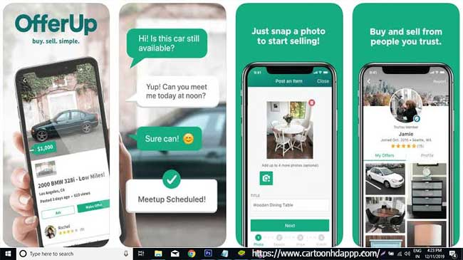OfferUp for PC Windows 10/8/7