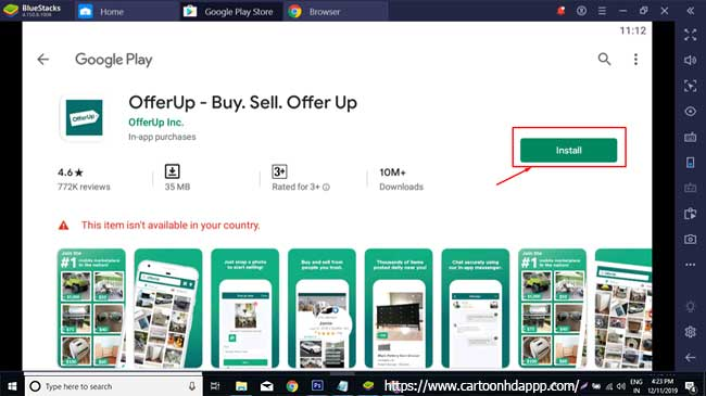 OfferUp for PC Windows 10/8/7 Free Download