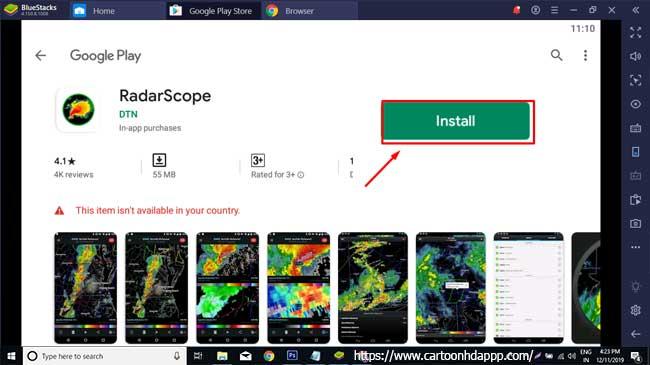 RadarScope for PC Windows 10/8/7  Free