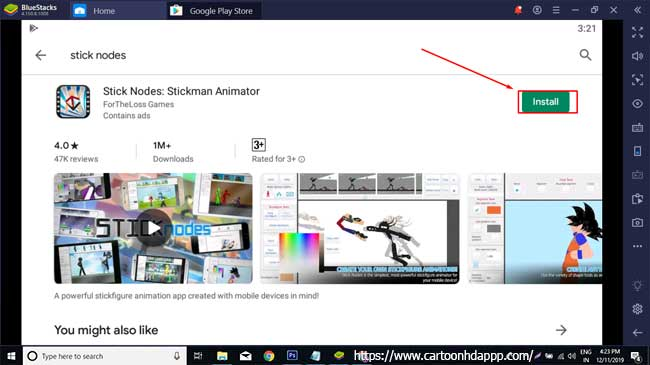 Stick Nodes for PC Windows 10/8/7 Free Download