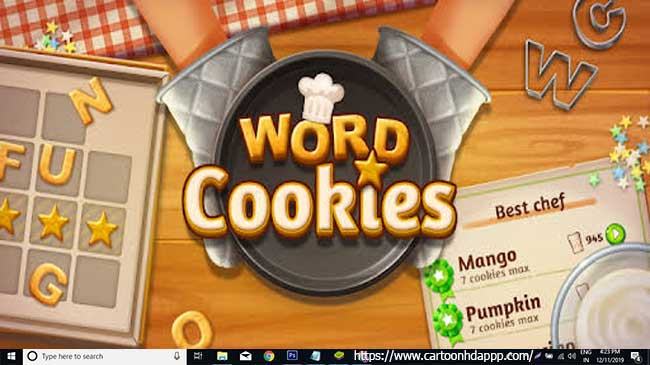 Word cookies for PC Windows 10/8/7