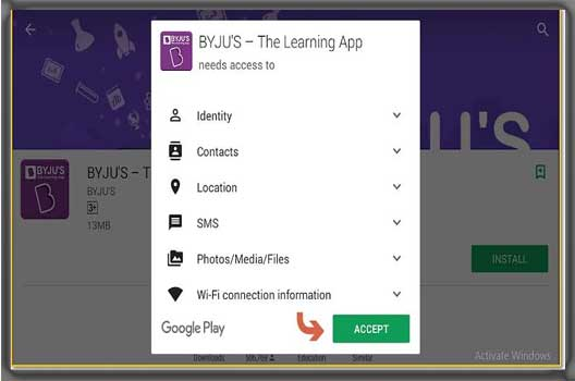 Downlod BYJU'S Learning application for PC Windows 10/8/7 Free