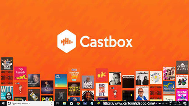 Castbox for PC Windows 10/8/7