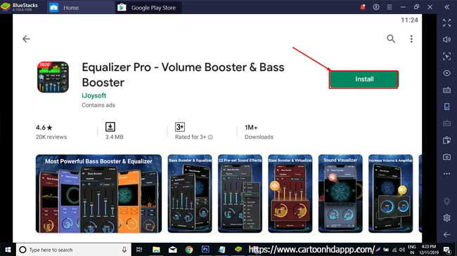 Equalizer pro for PC Windows 10/8/7 Free