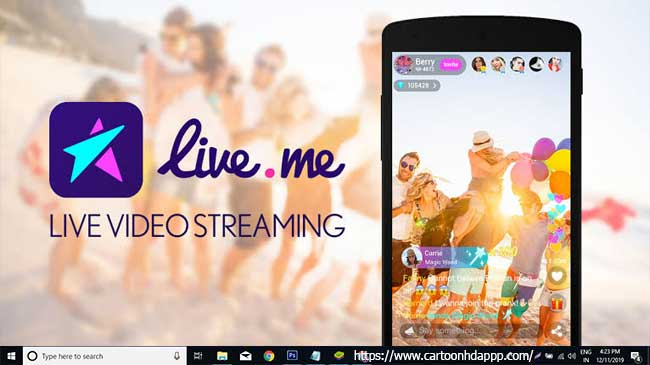 LiveMe for PC Windows 10/8/7
