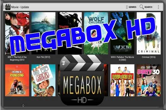 Megabox HD for PC and windows 10/8/7