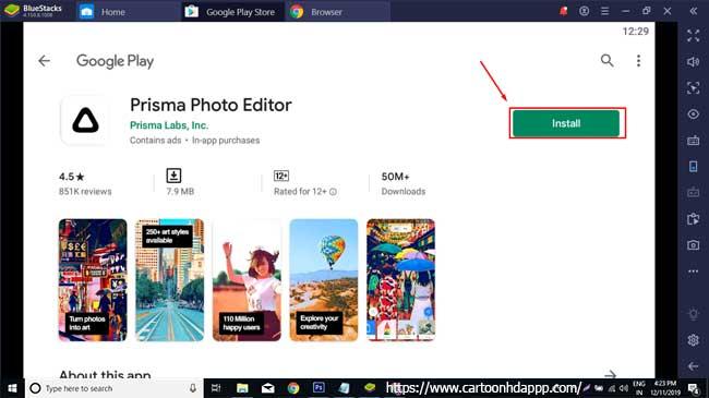 Prisma for PC Windows 10/8/7  Free Install