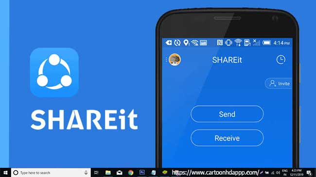 SHAREit For PC Windows 10/8/7