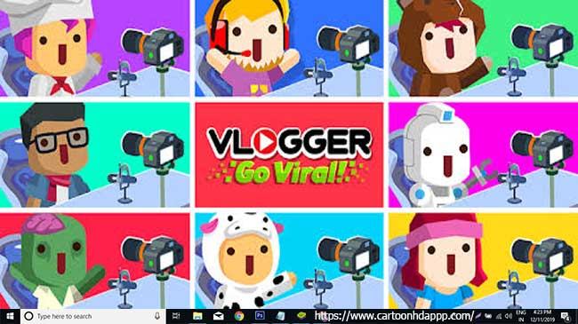 Vlogger go viral for PC Windows 10/8/7