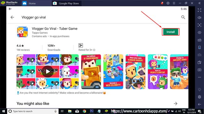 Vlogger go viral for PC Windows 10/8/7 Free Install