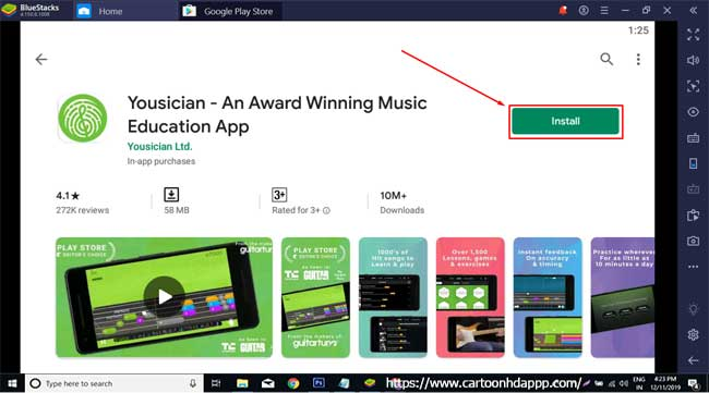 Yousician for PC Windows 10/8/7  Free