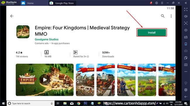 Empire: Four Kingdoms For PC (Windows 10/8.1/8/7/XP/Vista & Mac)