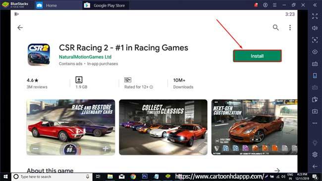 CSR Racing 2 For PC Windows 10/8.1/8/7/XP/Vista & Mac