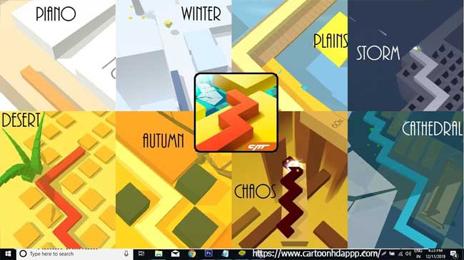 Dancing Line For PC Windows 10/8.1/8/7/XP/Vista & Mac