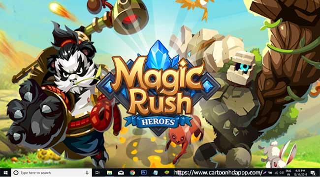 Magic Rush Heroes For PC Windows 10/8/8.1/7/XP/Vista & Mac