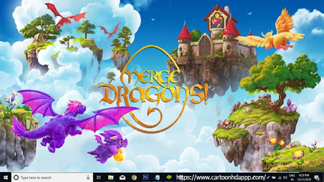 Merge Dragons For PC (Windows 10/8.1/8/7/XP/Vista & Mac)