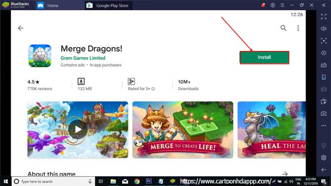 Merge Dragons For PC Windows 10/8.1/8/7/XP/Vista & Mac free