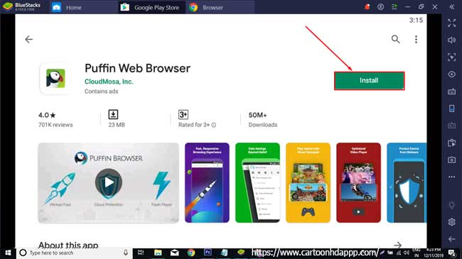 Puffin Web Browser For PC Windows 10/8.1/8/7/XP/Vista & Mac Free
