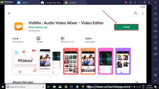 VidMix For PC Windows 7/8/8.1/10/Mac/XP/Vista Free