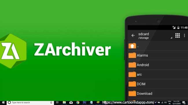 ZArchiver For PC Windows  10/8/8.1/10 & Mac
