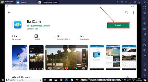 Ez iCam For PC Windows 10/8.1/8/7/XP/Vista & Mac Download Free
