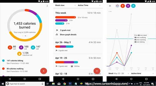 Google Fit Tracking For PC Windows 10/8.1/8/7/XP/Vista & Mac Free