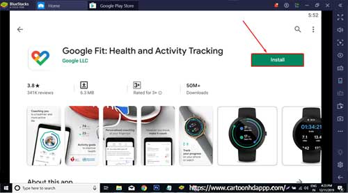 Google Fit Tracking For PC Windows 10/8.1/8/7/XP/Vista & Mac
