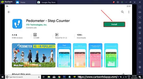 Pedometer For PC Windows 10/8.1/8/7/XP/Vista & Mac