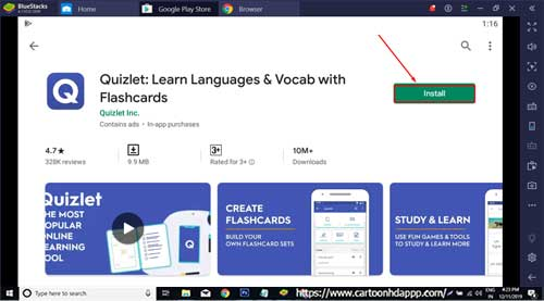 Quizlet For PC Windows 10/8.1/8/7/XP/Vista & Mac Free Install