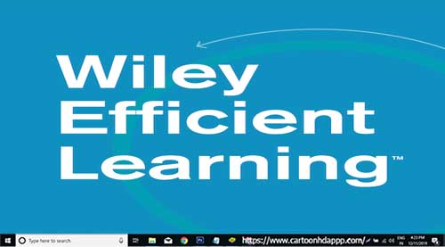 Wiley Efficient Learning For PC Windows 10/8.1/8/7/XP/Vista & Mac Free