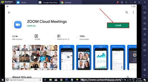 ZOOM Cloud Meetings For PC Windows 10/8.1/8/7/Mac/Vista Free
