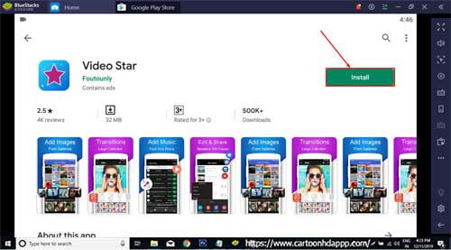 Video Star For PC Windows 10/8.1/8/7/XP/Vista & Mac