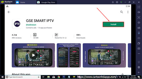GSE Smart IPTV For PC Windows 10/8.1/8/7/XP/Vista & Mac Download Free