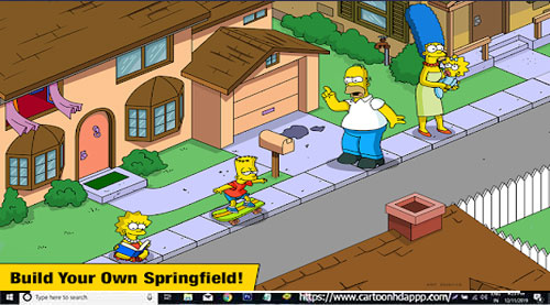 The Simpsons Tapped Out For PC Windows 10/8.1/8/7/XP/Vista & Mac