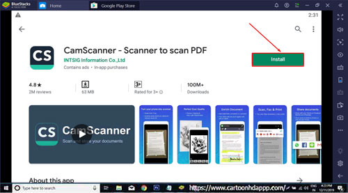 CamScanner For PC Windows 10/8.1/8/7/XP/Vista & Mac Free Install