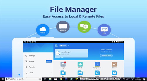 ES File Explorer For PC Windows 10/8.1/8/7/XP/Vista & Mac