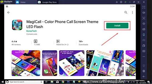MAGIC LED Caller For PC Windows 10/8.1/8/7/XP/Vista & Mac Free Download