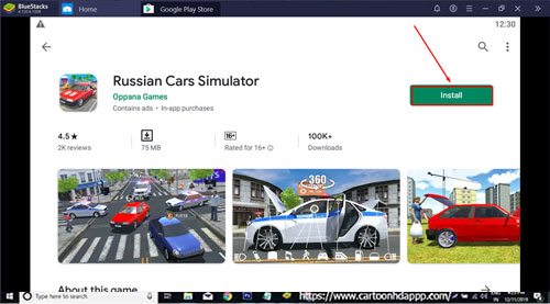 Russian Car Simulator For PC Windows 10/8.1/8/7/XP/Vista & Mac Free Install